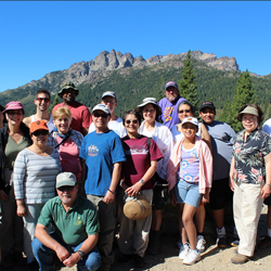 A Photo from SF State's Sierra Nevada Field Campus Alumni Camping Trip: Click to view more!