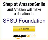 Shop at AmazonSmile and Amazon will make a donation to SFSU Foundation. Get started!