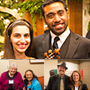 A collage of photos from the scholarship recognition dinner: Click to view more!