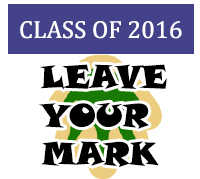 Class of 2016, leave your mark