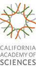 Logo of the California Academy of Sciences, Golden Gate Park, San Francisco